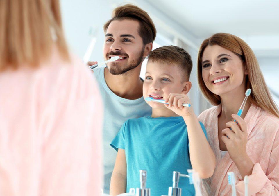 Igiene orale per ragazzi